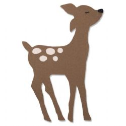 663380 - Sizzix Bigz Die - Retro Deer by Olivia Rose